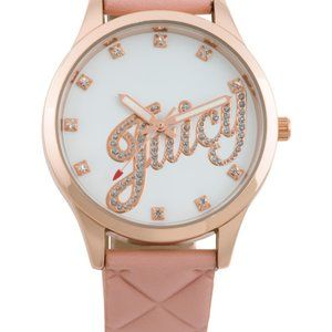 Juicy Couture Black Label Pink Rose Gold Watch